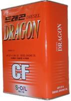 Масло моторное полусинтетическое Dragon Super Diesel CF 5W-30, 4л