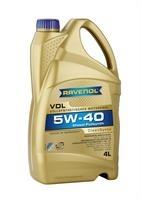 Масло моторное синтетическое VDL 5W-40, 4л
