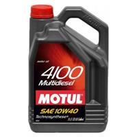 Масло моторное полусинтетическое 4100 MULTIDIESEL 10W-40, 5л