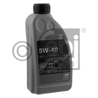 Масло моторное синтетическое 5W-40, 1л