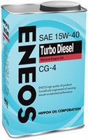 Масло моторное минеральное TURBO DIESEL CG-4 15W-40, 0.946л