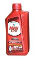 Масло моторное полусинтетическое MaxLife 10W-40, 1л