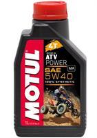 Масло моторное синтетическое ATV Power 4T 5W-40, 1л