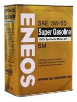 Масло моторное синтетическое Super Gasoline SM 5W-50, 0.94л