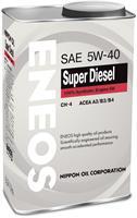 Масло моторное синтетическое DIESEL CH-4 5W-40, 0.946л