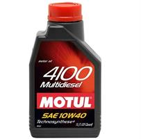 Масло моторное полусинтетическое 4100 MULTIDIESEL 10W-40, 1л