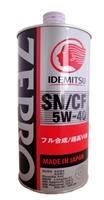 Масло моторное синтетическое Zepro Euro Spec SN/CF 5W-40, 1л