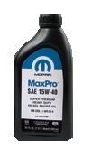 Масло моторное минеральное MaxPro 15W-40, 0.946л