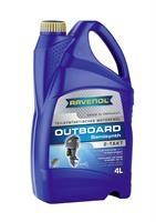 Масло моторное полусинтетическое Outboardoel 2T Teilsynth, 4л