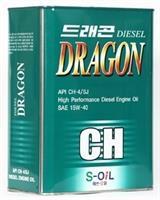 Масло моторное полусинтетическое DIESEL CH-4 15W-40, 4л