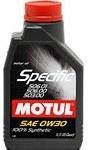 Масло моторное синтетическое Specific VW 506.01-506.00-503.00 0W-30, 1л