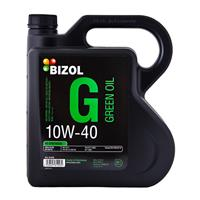 Масло моторное полусинтетическое Green Oil 10W-40, 4л