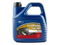 Масло моторное синтетическое SynGold Plus 5W-30, 4л