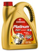 Масло моторное синтетическое Platinum MaxExpert C3 5W-40, 4л