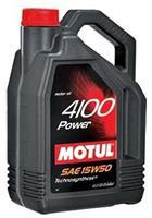 Масло моторное полусинтетическое 4100 POWER 15W-50, 4л