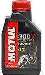 Масло моторное синтетическое 300V 4T FACTORY LINE 5W-40, 1л