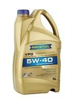Масло моторное синтетическое VPD 5W-40, 5л