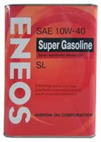 Масло моторное полусинтетическое SUPER GASOLINE SL 10W-40, 4л
