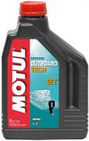 Масло моторное полусинтетическое Outboard TECH 2T, 2л