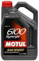 Масло моторное полусинтетическое 6100 SYNERGIE 15W-50, 4л