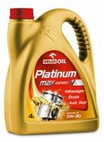 Масло моторное синтетическое Platinum MaxExpert V 5W-30, 4л