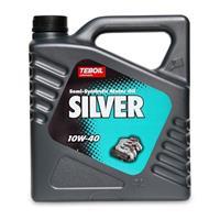 Масло моторное полусинтетическое SILVER 10W-40, 4л