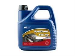 Масло моторное синтетическое SynGold 5W-40, 4л