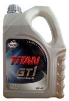 Масло моторное синтетическое TITAN GT1 5W-40, 4л