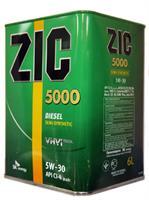 Масло моторное полусинтетическое 5000 5W-30, 6л
