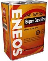 Масло моторное полусинтетическое SUPER GASOLINE SL 5W-30, 4л