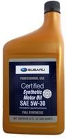 Масло моторное синтетическое SYNTHETIC OIL 5W-30, 0.946л