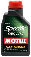Масло моторное синтетическое Specific CNG/LPG 5W-40, 1л