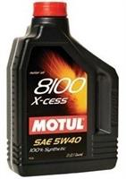 Масло моторное синтетическое 8100 X-CESS 5W-40, 2л