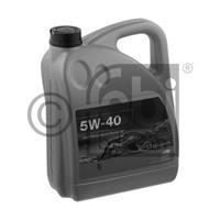 Масло моторное синтетическое 5W-40, 5л