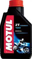 Масло моторное минеральное 100 MotoMix 2T, 1л