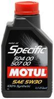 Масло моторное синтетическое Specific 504.00-507.00 5W-30, 1л