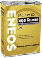 Масло моторное синтетическое Super Gasoline SM 5W-50, 4л