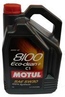 Масло моторное синтетическое 8100 Eco-clean+ 5W-30, 5л