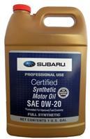 Масло моторное синтетическое SYNTHETIC OIL 0W-20, 3.78л